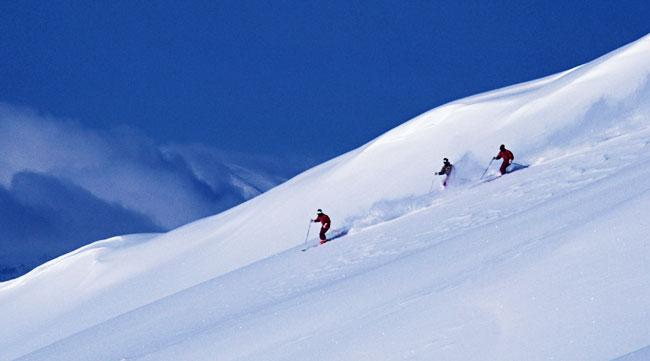iran snow boarding