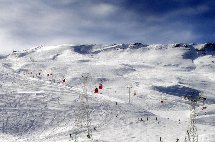 iran dizin ski slope weather